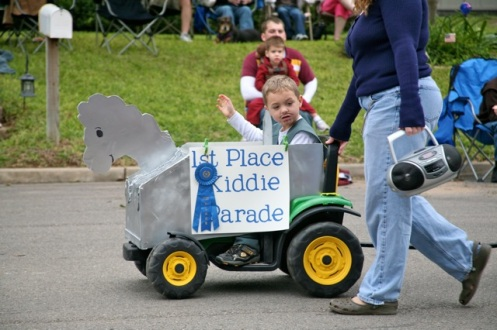 Parades are for the little guys...